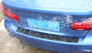 Image 4 - Posteriore Piastra di Protezione Sticker Paraurti Auto per kia sorento nissan x trail t32 lifan x60 kia rio 2017 spolverino renault nissan