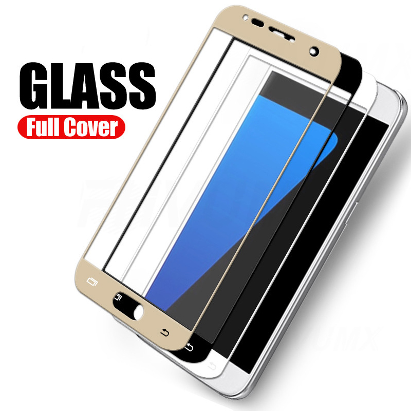 9D <font><b>Full</b></font> <font><b>cover</b></font> Tempered <font><b>Glass</b></font> For <font><b>Samsung</b></font> <font><b>Galaxy</b></font> <font><b>A5</b></font> 2017 A7 2018 A3 <font><b>A5</b></font> A6 <font><b>2016</b></font> <font><b>Glass</b></font> film <font><b>Galaxy</b></font> J3 J5 J7 2017 Screen Protector image