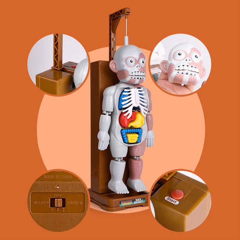 Новые игрушки шутка кляп Веселая игрушка-Новинка для детей монтируемая игрушка модель 3D Пазлы веселые игры человеческое тело террор