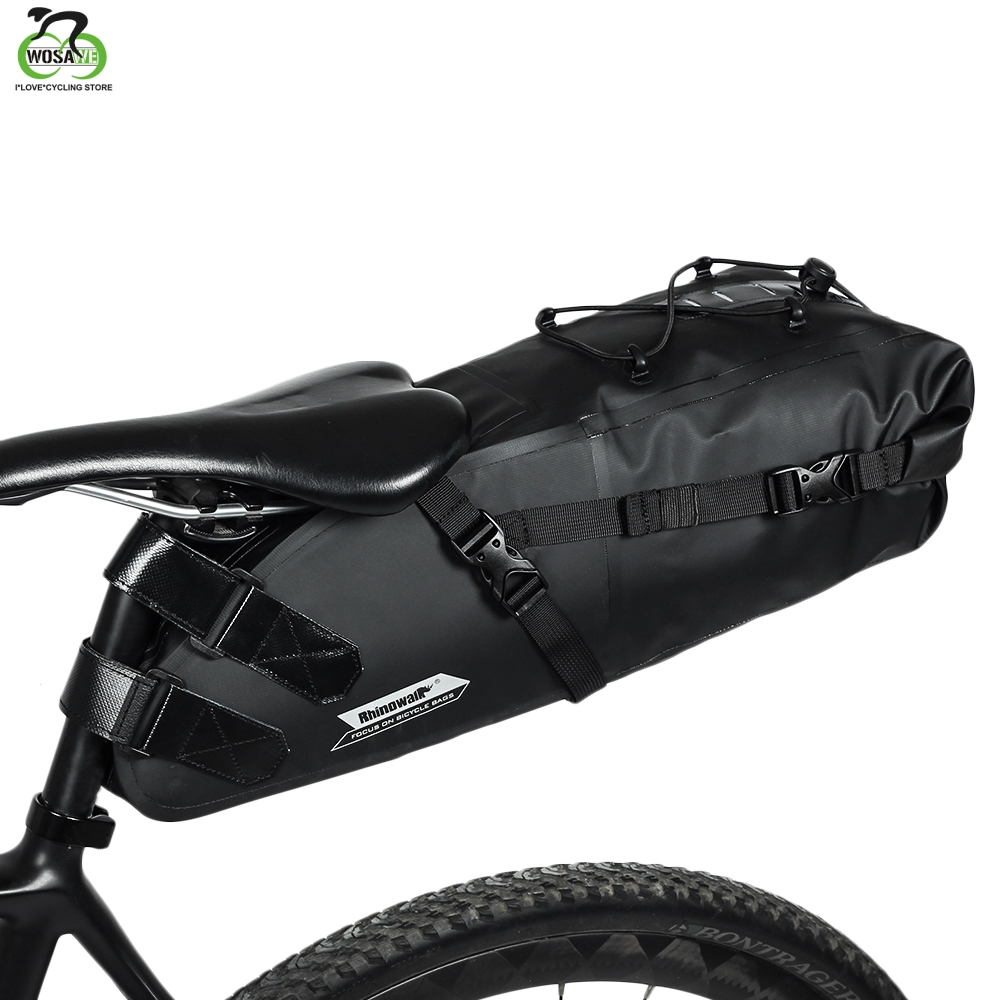 Large Rear Pack Bike Saddle Bag Bicycle Pouch Seat Pannier Cycling for Tool