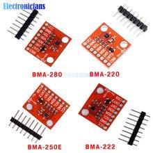 BMA220 BMA250E BMA280 Tre Albero Sensore di Gravità BMA222 Piccolo Sensore di Accelerazione A Tre Assi Basso G Bordo di Sviluppo del Modulo