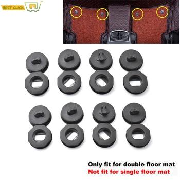 8x Universal Car mata podłogowa klipy uchwyty rękawy czarny Auto dywan mocowania uchwyty zaciski akcesoria samochodowe tanie i dobre opinie XUKEY CN (pochodzenie) 1inch TWORZYWA SZTUCZNE 0 18kg Iso9001