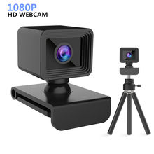 Webcam 1080P Widescreen Video HD Web Camera with Built-in HD MicrophoneUSB Plug USB camera Live Video Calling Conference Work