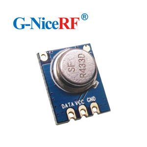 Image 3 - 8pcs/lot  433MHZ  Superheterodyne ASK RF Transmitter Module STX882  including spring antenna