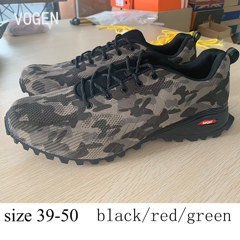 Shoes Male Sneakers Camouflage Size