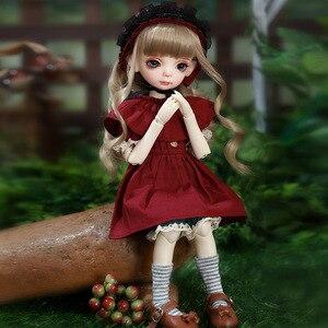 Image 2 - OUENEIFS BJD SD בובת מוט 1/6 דגם תינוק בנות בני בובת צעצועים לילדים חברים הפתעה מתנה עבור בני בנות