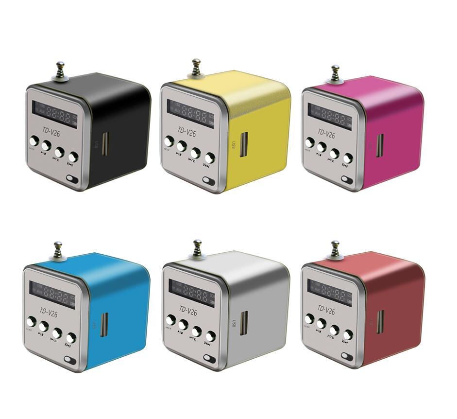 Mini Micro USB Stereo Portable Speaker Music Player FM Radio PC MP3 //4 Notebook