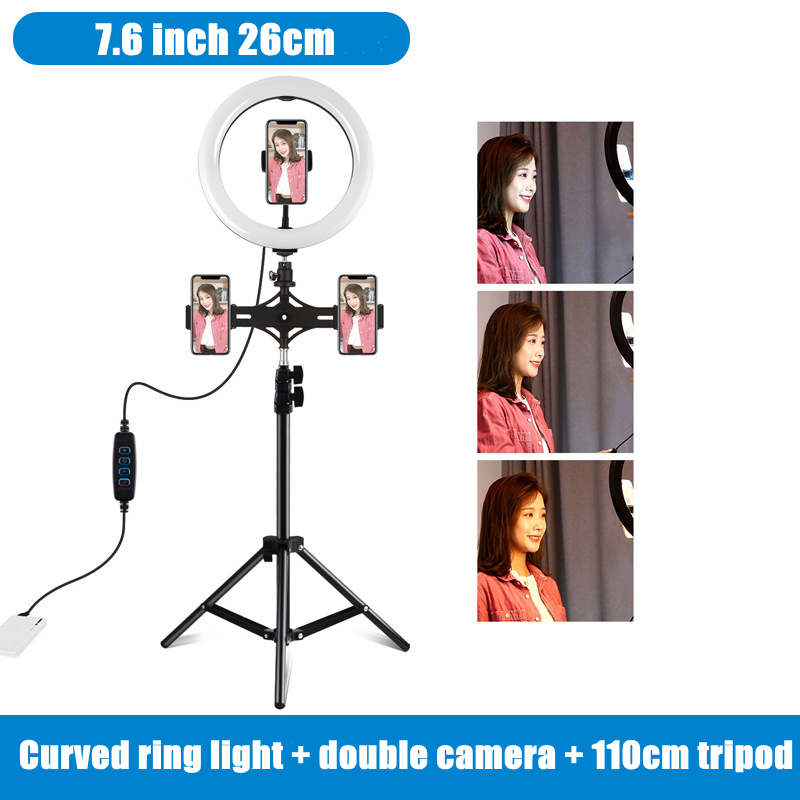 PULUZ  PKT Ring Fill Light Remote Control/with Stand or Phone Holder For Vlogger/Selfie PKT Good Choice!