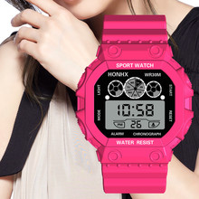women Men's Three Eyes Analog Clock Sport Digital LED Waterproof Wrist Watch Luxury Men Analog Digital Military men watch @9 цена