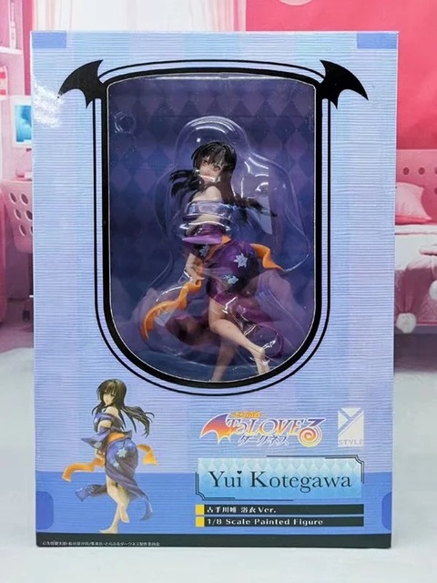 20CM To Love Darkness Kotegawa Yui sexy Action Figure PVC Collection Model toys brinquedos for christmas gift
