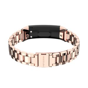 Image 4 - Watch Strap Honor band 3 Bracelet for Huawei Honor 3 Band Watch Band Wristband Stainless Steel Bracelet for Huawei 3 Honor Band
