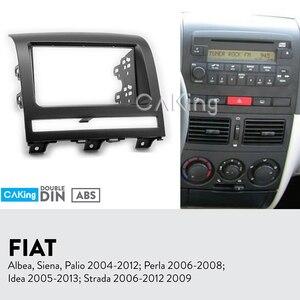 Image 1 - Car Fascia Radio Panel for FIAT Albea, Siena, Palio 2004 2012; Perla 2006 2008 Dash Kit Console Facia Plate Adapter Cover Bezel