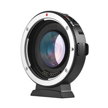 Viltrox EF-M2ll Auto Focus video Camera Lens Mount Adapter 0.71X for Canon EOS (EF) Lens to Micro Four Thirds (MTF, M4/3) Camera
