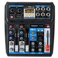 Freeboss AG-PS6 DC 5V di Alimentazione Interfaccia USB 6 Canali 2 Mono 2 Stereo 16 Effetti Mixer Audio Digitale