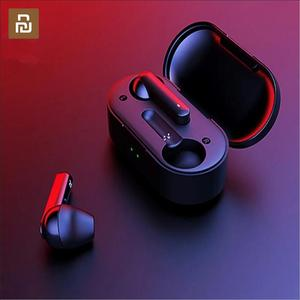 Image 1 - Youpin T3 TWS Fingerprint Touch Wireless Headphones Bluetooth V5.0 3D Stereo Dual Mic Noise Cancelling Earphones