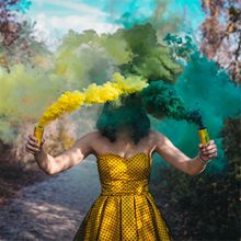 Bolo spray fumaça efeito mostrar festa de halloween palco estúdio casamento foto adereços magia nevoeiro fumaça bolo colorido tubo garrafa fumaça