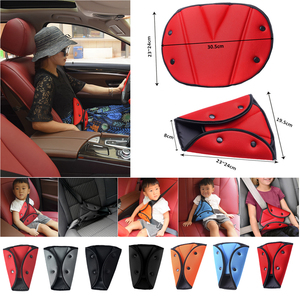 Child Seat Belt Adjustment Holder Car Anti-Neck Neck Baby Shoulder Cover Seat Belt Positioner Auto Child Seatbelt For Kid Safety