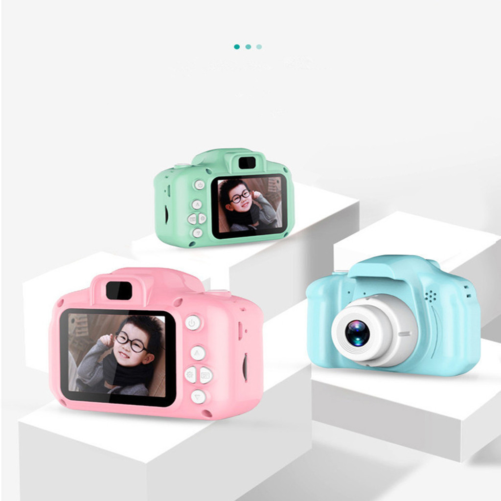 Children Mini Camera Kids Educational Toys HD 2.0Inch LCD Compact Digital Camera Display Screen Digital Camera Gift For Kids