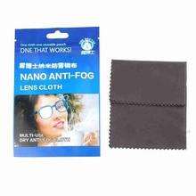 15x15cm Eyeglasses Anti-fog Cloth Nano Superfine Fiber Grey Glasses Cleaner  Fabric For Spectacles Lenses Camera Phone Screen