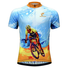 2019 New Cycling Jersey Men Short Sleeve MTB Bike Jersey Clothing Ropa Ciclismo Team Bicycle Jersey Maillot Ciclismo стоимость