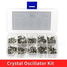 10Values HC-49S Quartz Resonator DIP Crystal Oscillator Kit 4MHz 6MHz 8MHz 12MHz 16MHz 24MHz 25MHz 48MHz 2Pin diy electronic set