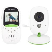 Baby monitor kamera mit wireless LCD bildschirm und audio video Baby Nacht Version kamera EU stecker 100-240V \u00282 zoll\u0029