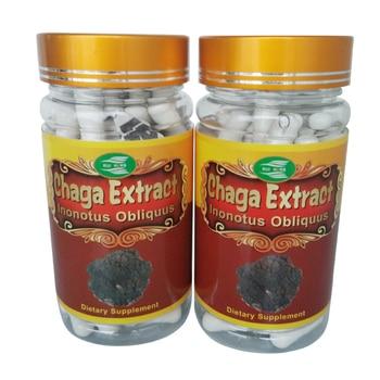 6Bottles Chaga Mushroom Extract 30% Polysaccharide Caps (500mg x 540pcs ) free shipping