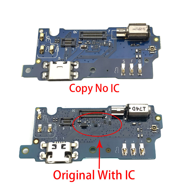 USB Charging Port Mic Microphone Dock Connector Board Flex Cable For Meizu M3S Repair Parts