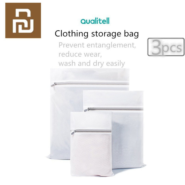 Youpin Furnishing Practical Clothes Laundry Protection Bag 3 Pack Super Affordable Travel Storage Clothing Bag