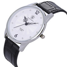 Retro Herren Uhren Super Leder Quarz Uhr Für Männlich Unisex Weibliche Armbanduhr Uhren Stunde Kreative Uhren