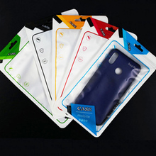 100PCS Cell Phone Case Ziplock Bags 12 Colors PP Plastic Pouch Packaging Sealing Bag 12*21cm