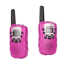 Get more info on the Baofeng T3 Children Walkie Talkies Mini Two-Way Radios Boys and Girls Uhf 462 - 467 Mhz Frquency 22 Channels - 1 Pair