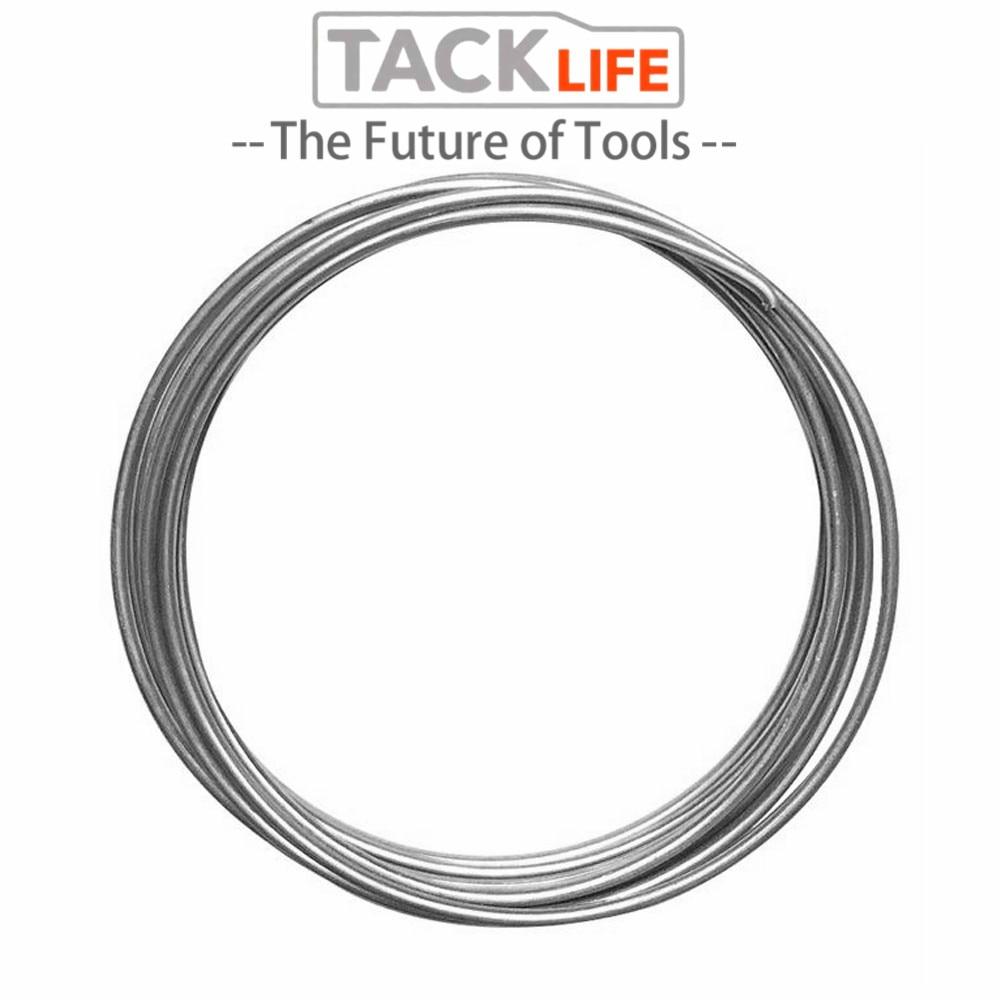 TACKLIFE 55cm Silver Low Temperature Welding Wire Aluminum Welding Electrode Flux Core Aluminum Welding Rod 30/50/100PCS