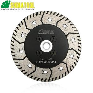 """Image 1 - SHDIATOOL 1pc 115mm or 125mm Diamond Cutting Grindng Disc Dia 4.5"""" or 5"""" Dual Saw Blade Cut Grind Sharpen Granite Marble blades"""