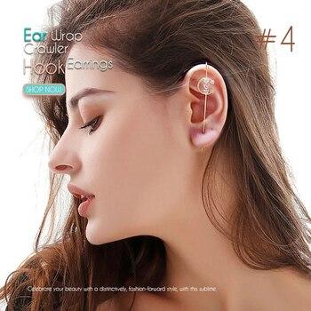 Ear Wrap Crawler Hook Earrings 4