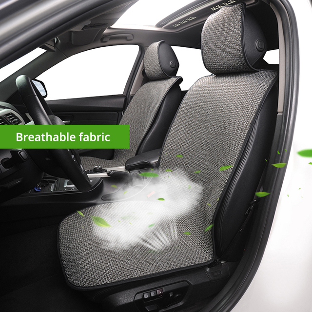 $ US $12.99 1 Breathable Mesh Car Seat Cool Car Seat In Four Seasons High Quality Luxury Car Interior Suitable For Most Car Seats