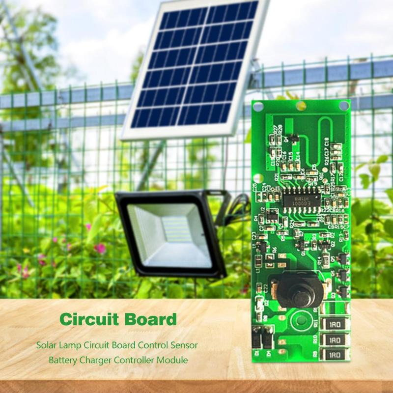 3.2V Solar Lamp Circuit Board Wide Scope Of Application Daily Durability Control Sensor Battery Charger Controller Module