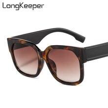 Солнцезащитные очки в винтажном стиле женские квадратные темные