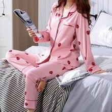 Party Pajamas 2020 Autumn New Women's Silk Long Sleeve Pajamas