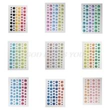 Сахар брызгает самоклеющиеся эмалированные точки смолы наклейки для скрапбукинга/DIY ремесла/изготовление открыток украшения