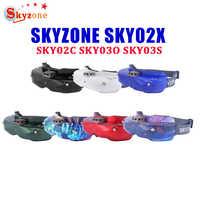 SKYZONE SKY02X/SKY02C/SKY03O/SKY03S 5,8 Ghz 48CH diversidad FPV gafas para Dron de carreras RC