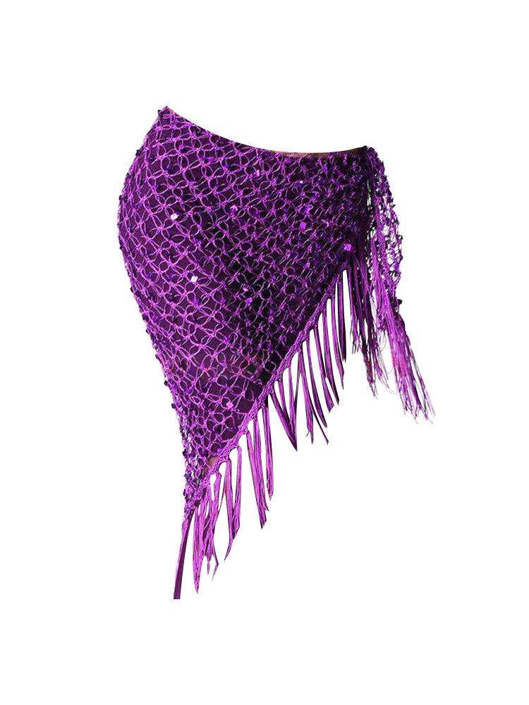 Hip-Scarf Dancing-Belts Belly-Dance-Costumes Sequins Women for New-Style