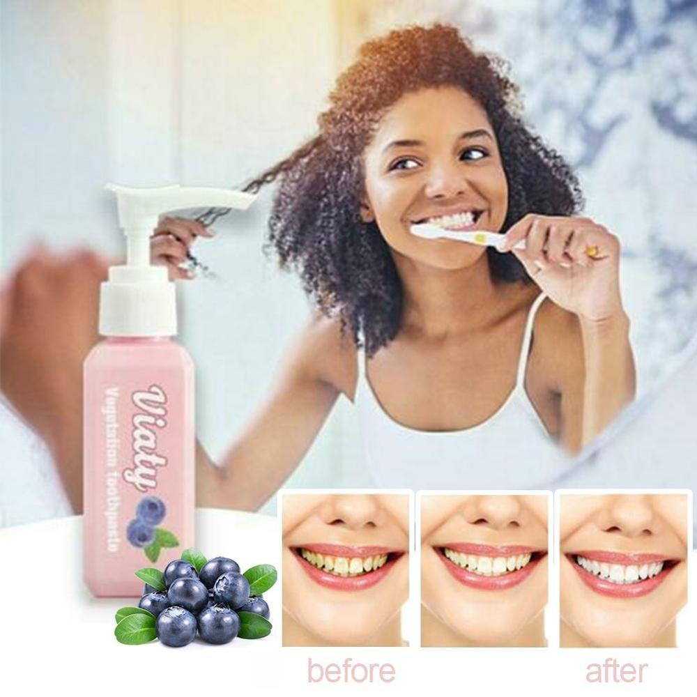 Viaty Toothpaste Stain Smoke Coffee Removal Reduce Tooth Dirt Whitening Toothpaste Fight Bleeding Gums Fresh Toothpaste