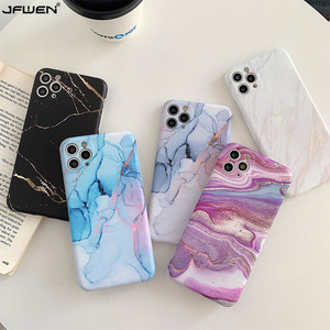Silicone Case For iphone 11 Pro XS Max SE 2020 X 8 7 6 6S Plus XR Phone Case Luxury Marble Soft TPU IMD Back Cover Dropshipping