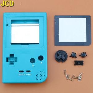 Image 5 - JCD 1 قطعة البلاستيك غطاء كامل الإسكان شل استبدال ل Gameboy جيب لعبة وحدة التحكم ل GBP قذيفة حالة ث/أزرار عدة