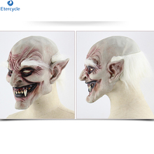 Horror Old man mask Halloween horror devil vampire foreign trade haunted house dress props latex hood custom
