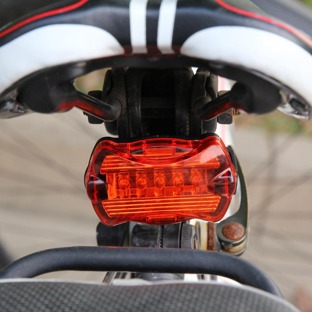 5LED Children/'s bicycle Tail Light  waterproof and shockproof for safe riding