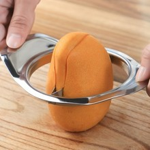 Stainless steel cut mango fruit splitter cut mango knife corer mango slicer vegetable slicer  kitchen tools gadgets fruit slicer брюки mango man mango man he002emecug9