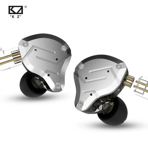 2019 KZ ZS10 PRO 4BA+1DD KZ Hybrid Earphone headset HIFI Earbuds In Ear Monitor Headphones Earbuds for KZ AS10 ZS10 ZSN PRO Islamabad