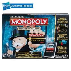 Hasbro el juego de Monopoly electrónico para adultos, juegos familiares, junto con los Fans populares de la banca electrónica, actualización de la versión china